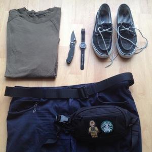 Zusammen mit den tactical boat shoes erreicht man mit dem Baselayer Shirt einen sehr hohen Stilquotienten